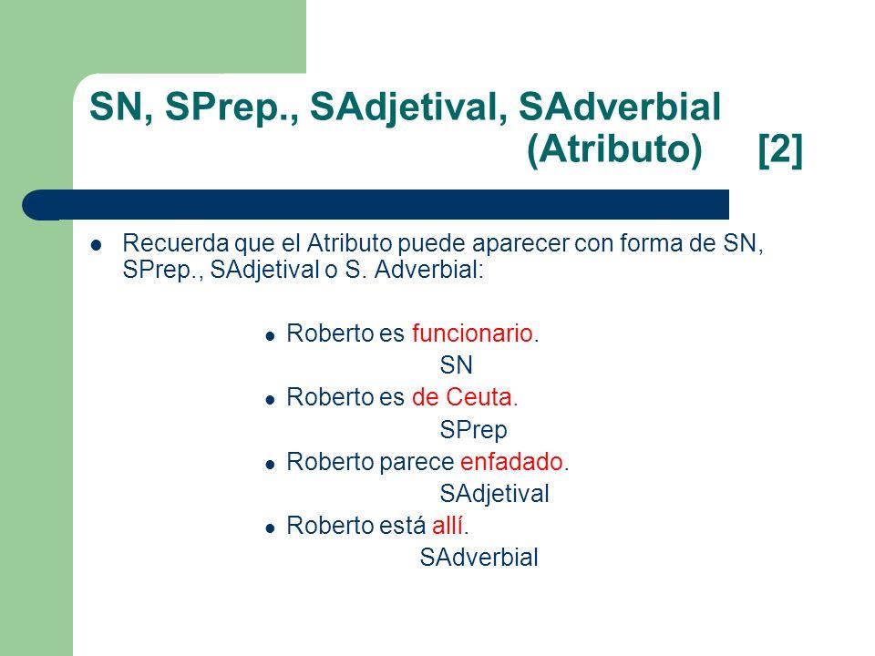 SN, SPrep., SAdjetival, SAdverbial (Atributo) [2]